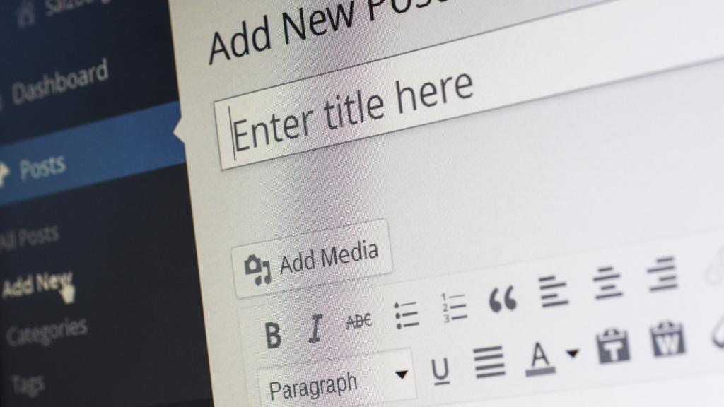 how to write a blog - step 4