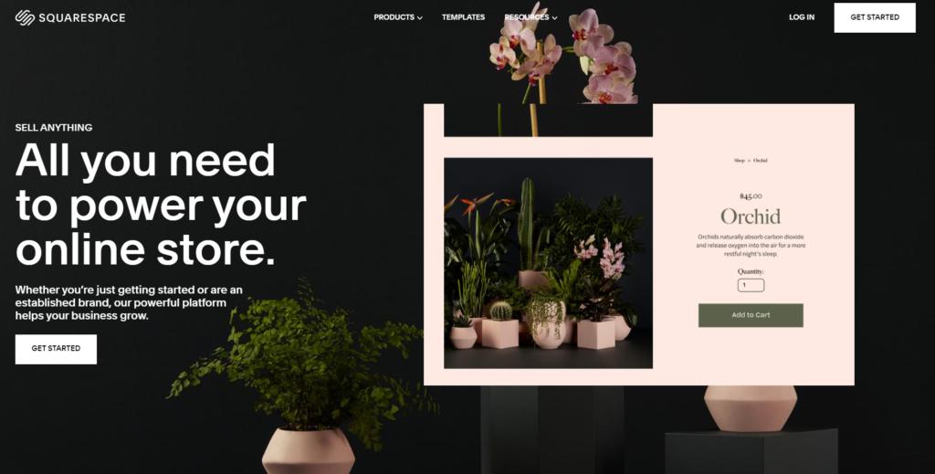 Squarespace ecommerce platforms