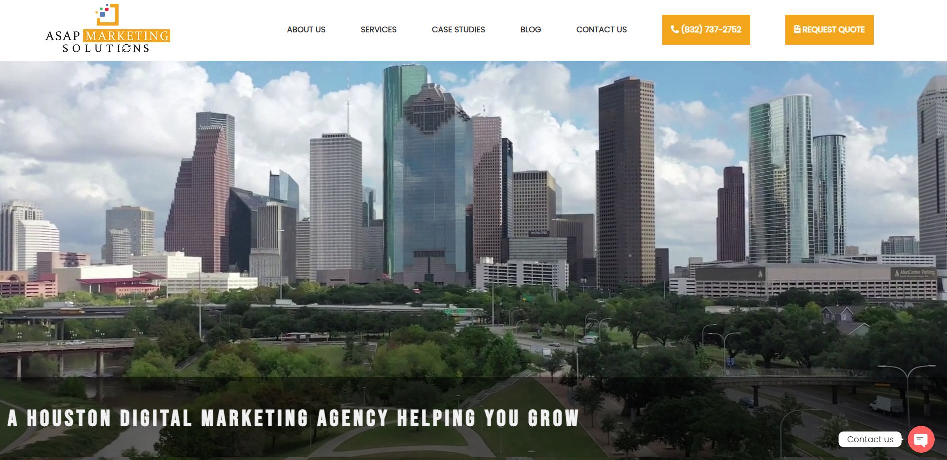 Houston digital marketing agency